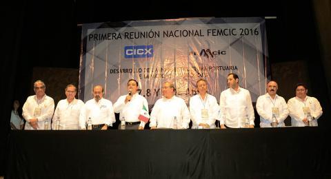 Inauguración de la Primera Reunión Nacional de la Federación Mexicana de Colegios de Ingenieros Civiles 2016